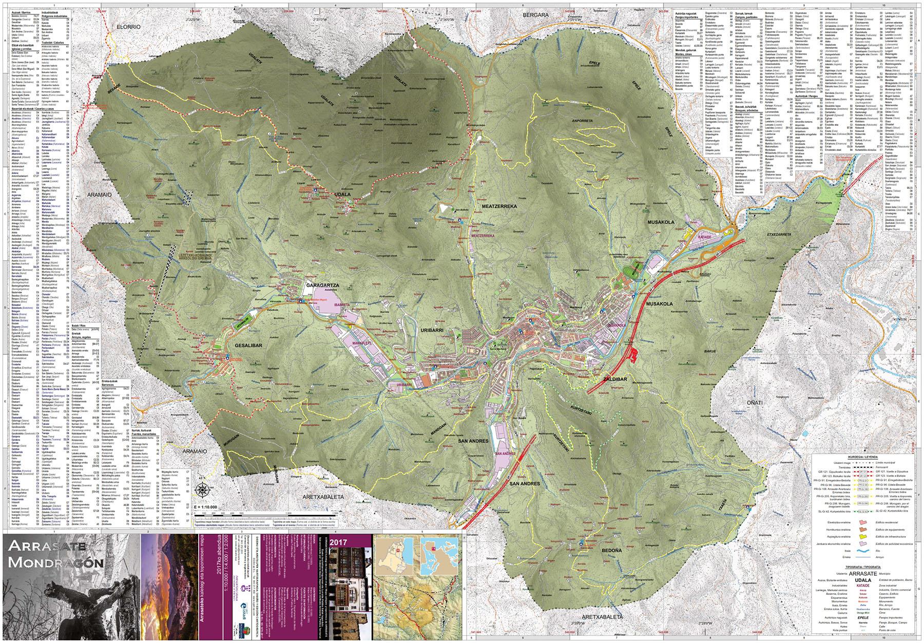 Toponimia 2017