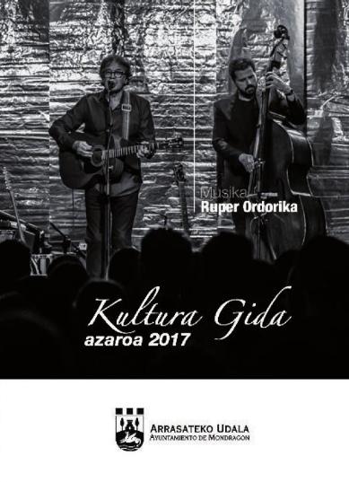 Portada guía cultural noviembre 2017