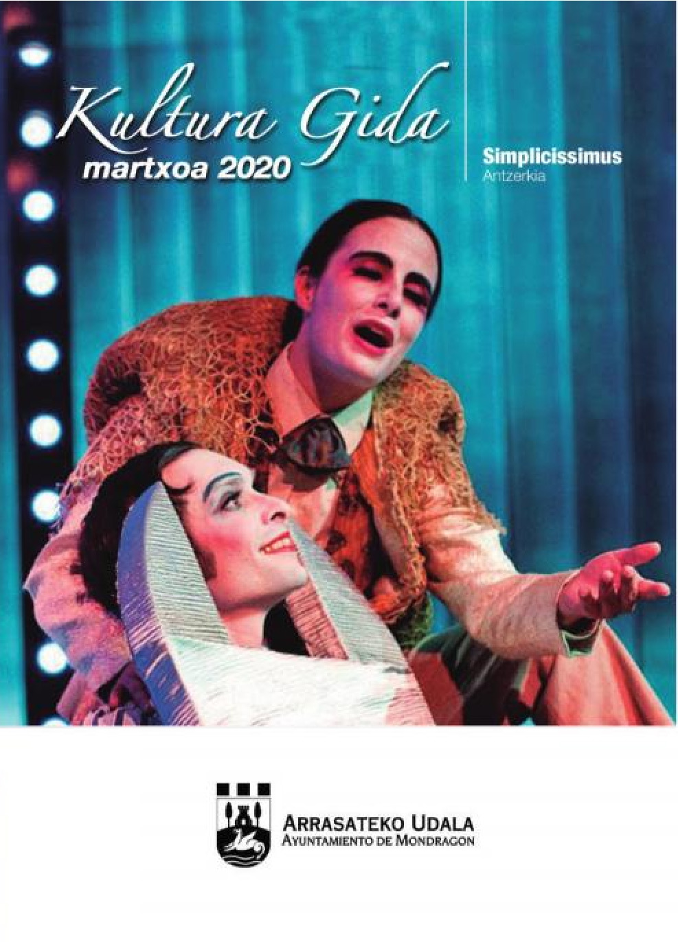 Portada guía cultural marzo 2020